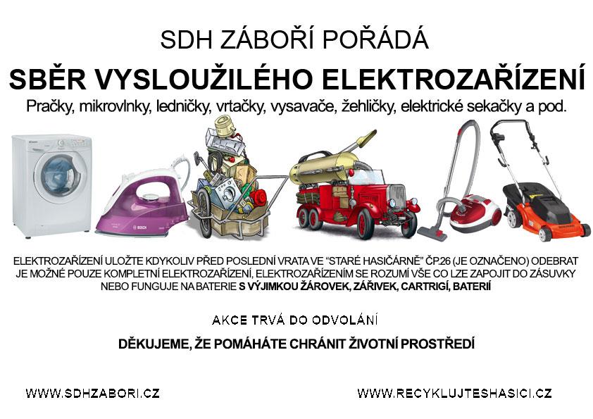 Sběr vysloužilého elektrozařízení