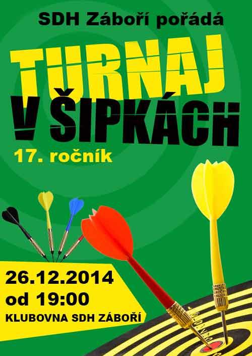 Vánoční turnaj v šipkách 2014